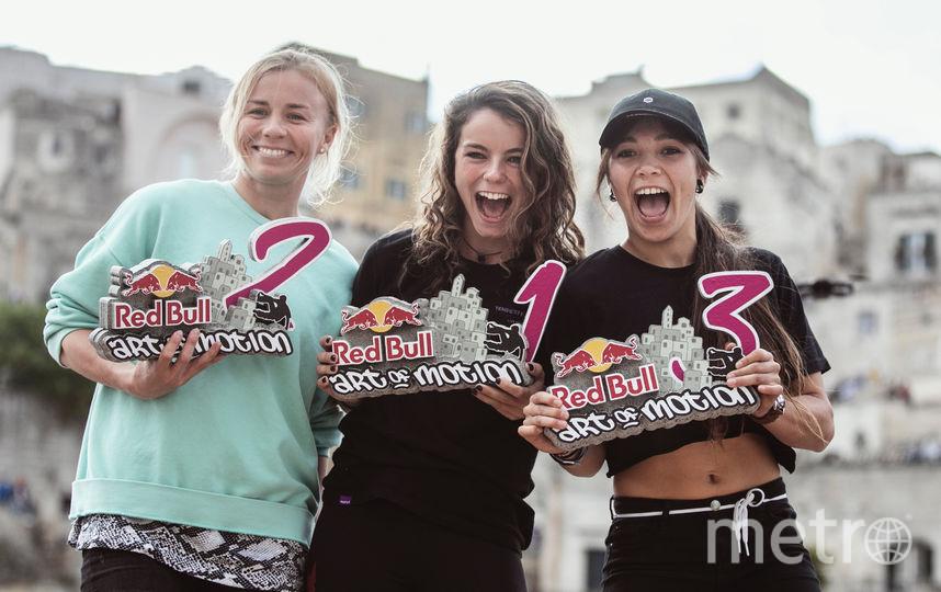 Победители в женском зачёте. Фото Mauro Puccini | Red Bull Content Pool, Предоставлено организаторами