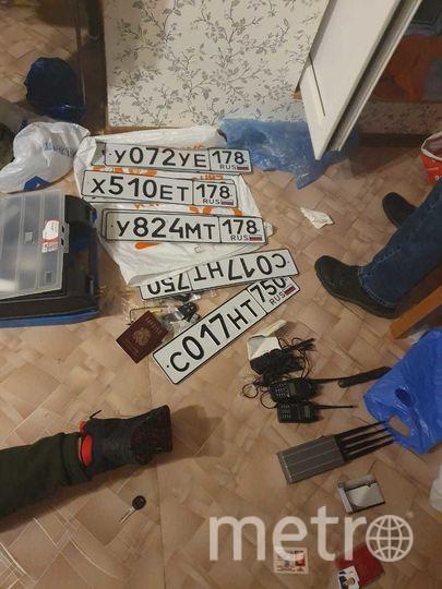 Фото с места задержания. Фото 78.мвд.рф