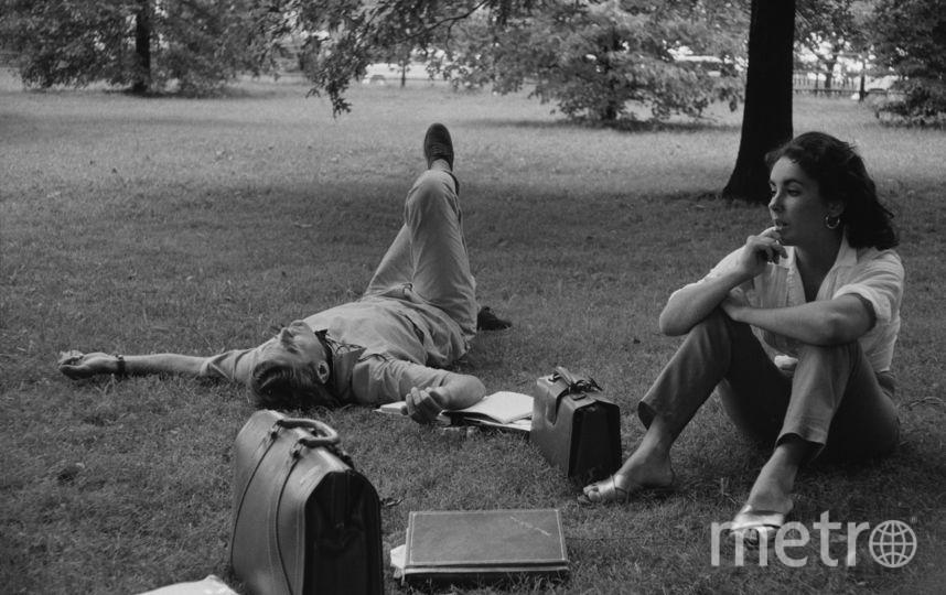 Монтгомери Клифт и Элизабет Тэйлор. Фото Getty