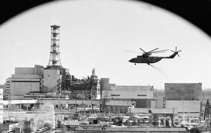 Ликвидация последствий аварии на ЧАЭС. Фото РИА Новости