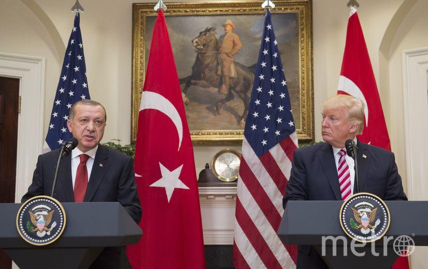 Реджеп Тайип Эрдоган и Дональд Трамп. Архивное фото. Фото AFP