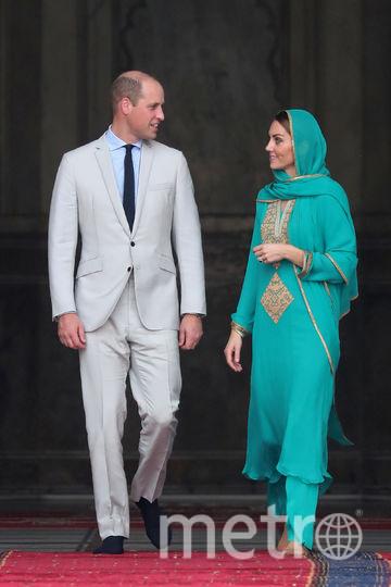 Кейт Миддлтон и принц Уильям в Лахоре. Фото Getty