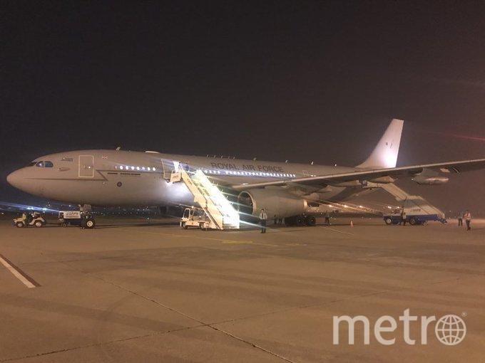 Самолет, на котором летели Кейт Миддлтон и принц Уильям вернулся обратно в аэропорт вылета. Фото Getty