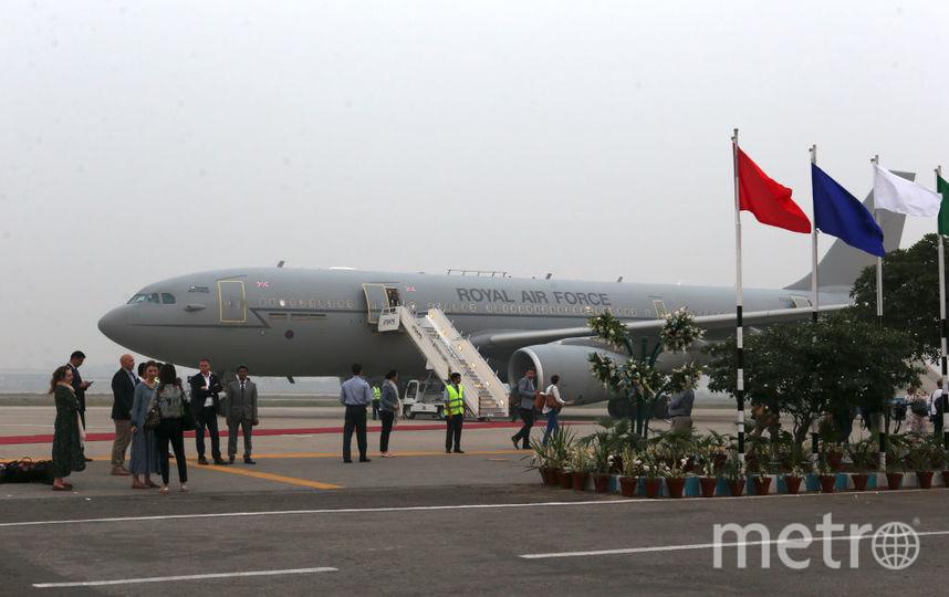 Кейт и Уильям на этом самолет прибыли в Лахор, но вернуться в Исламабад в тот же вечер не получилось. Фото Getty