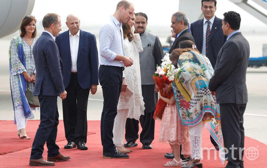 Это фото начала визита в Лахор. Фото Getty