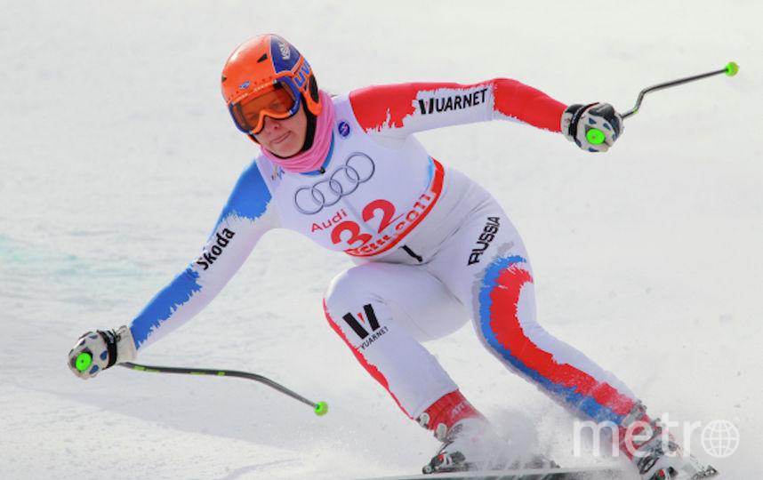 Мария Комиссарова до травмы. Фото РИА Новости
