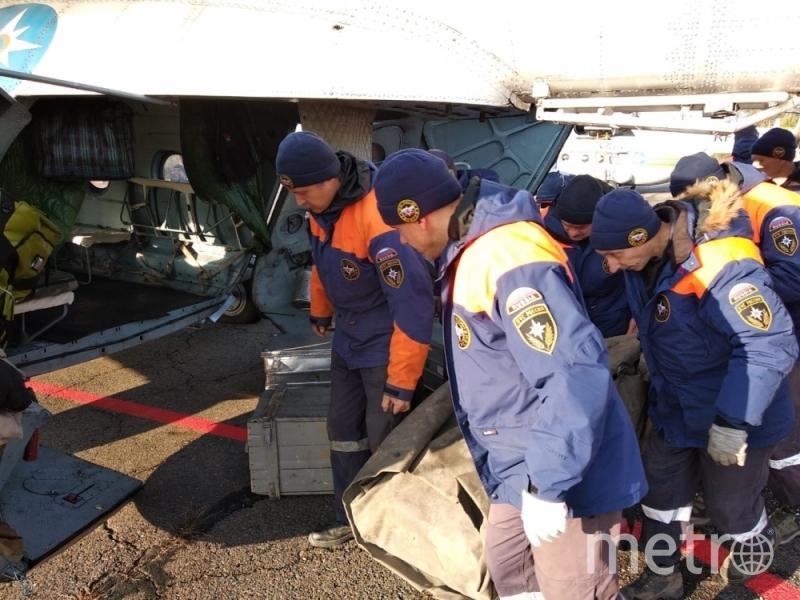 Спасатели отправляются на место ЧП. Фото 24.mchs.gov.ru