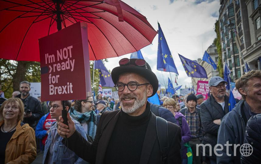 Протесты в Великобритании. Фото Getty