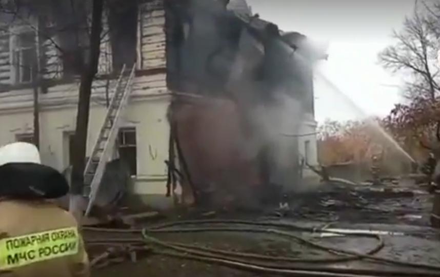 СК назвал поджог причиной пожара в жилом доме в Ярославской области. Фото www.sledcom.ru
