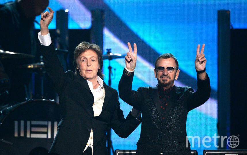 Ринго Старр и Пол Маккартни. Фото Getty