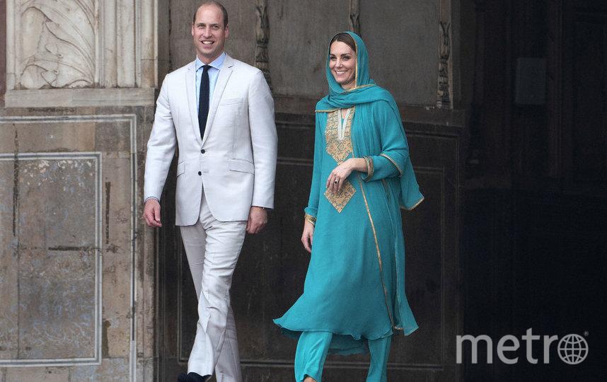 Кейт Миддлтон и принц Уильям, официальный визит в Пакистан, фотоархив. Фото Getty