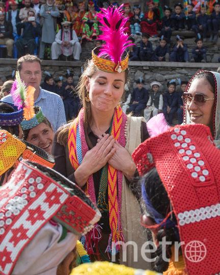 Кейт Миддлтон, официальный визит в Пакистан, фотоархив. Фото Getty