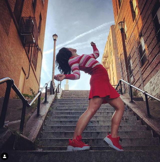 Снимок из соцсети. Фото скриншот из Instagram: @laura_dorgan_fitness