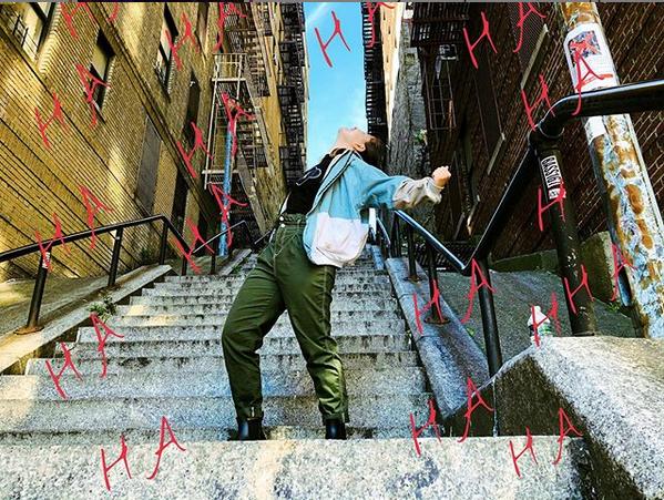 Снимок из соцсети. Фото скриншот из Instagram: @jennapolignone