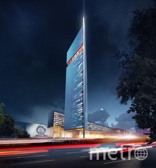 "Проект. Фото UNK project, предоставлено Москомархитектурой, ""Metro"""