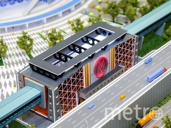 """Станцию метро """"Спортивная"""" начали строить в начале сентября этого года."""