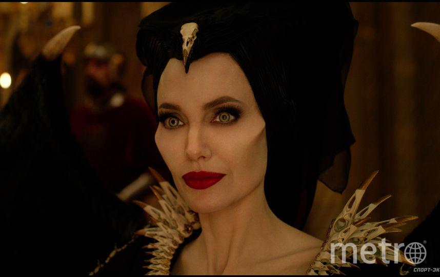 Анджелина Джоли в образе Малефисенты. Фото WDSSPR