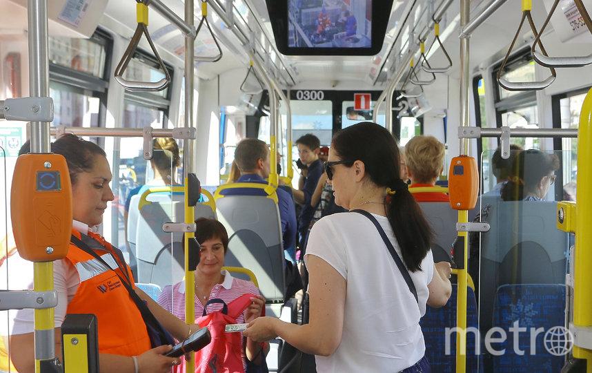 В планах – сделать весь транспорт Петербурга муниципальным. Фото Светлана Холявчук, Интерпресс