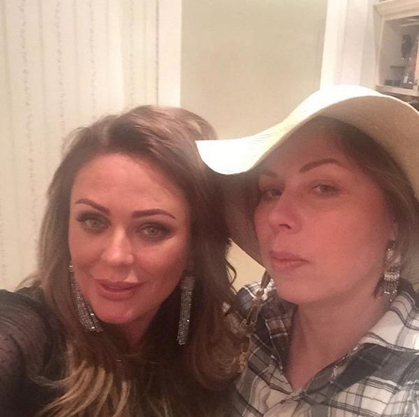 Юлия Началова и Анна Исаева. Фото скриншот: instagram.com/isaeva.anya/