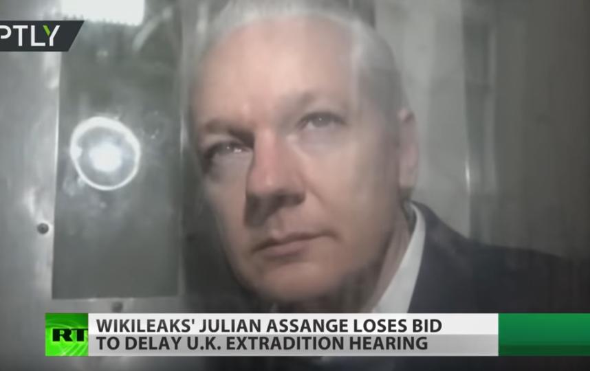 Джулиан Ассанж. Фото Скриншот Youtube