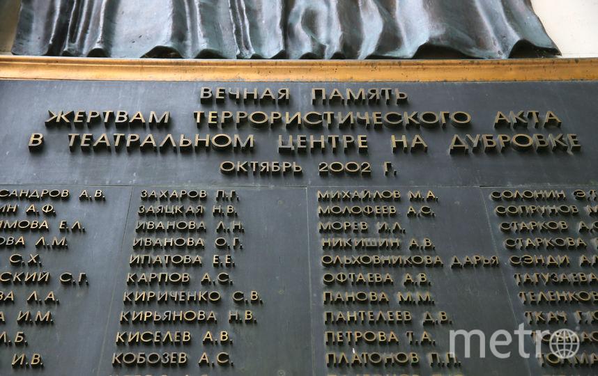 Траурная доска с именами погибших на здании бывшего театрального центра. Фото Василий Кузьмичёнок