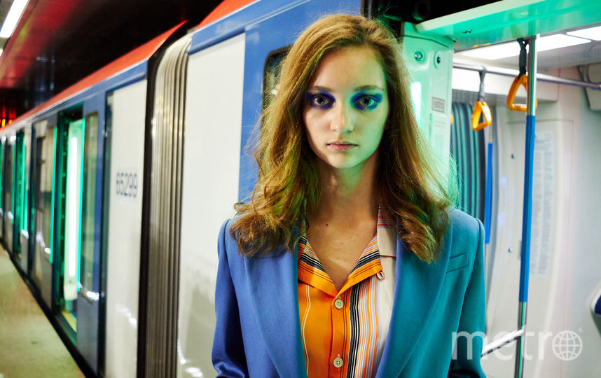 """Десятиклассница Кира из Подмосковья. Фото Григорий Матвеев, """"Metro"""""""