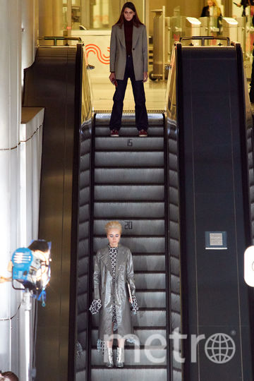 """Показ на станции метро """"Деловой центр"""". Фото Григорий Матвеев, """"Metro"""""""