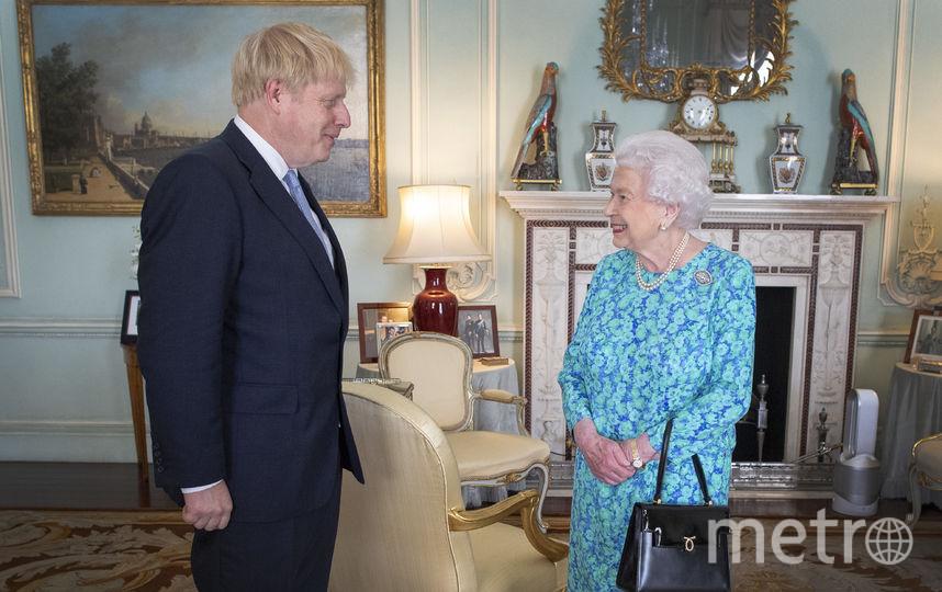 С премьер-министром Борисом Джонсоном 24 июля 2019 года. Фото Getty