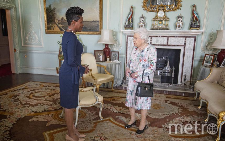 Королева приняла Верховного комиссара по Гренаде в Лондоне. Фото Getty