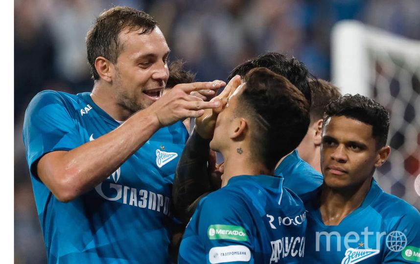 Артём Дзюба в матче с «Ростовом» оформил хет-трик и сделал две результативные передачи. Фото Getty
