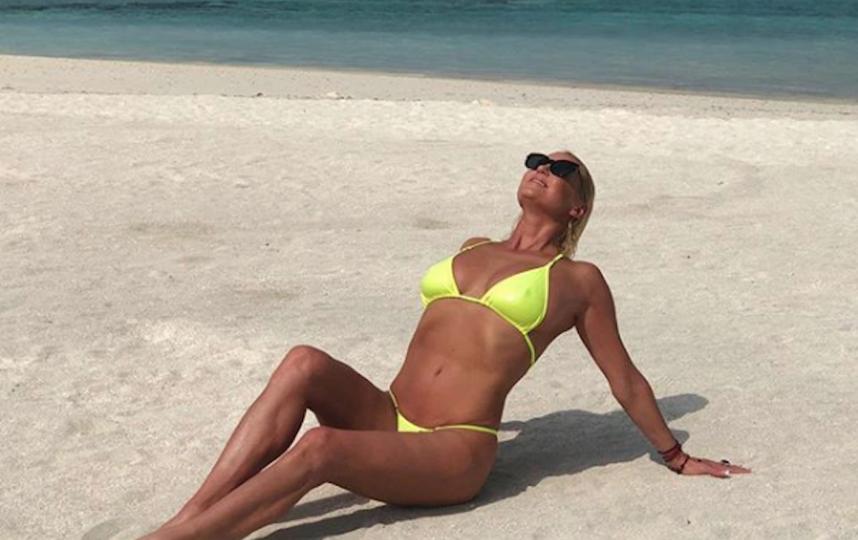 Волочкова не только много тренируется, но и с радостью отдыхает. Фото Скриншот Instagram/volochkova_art