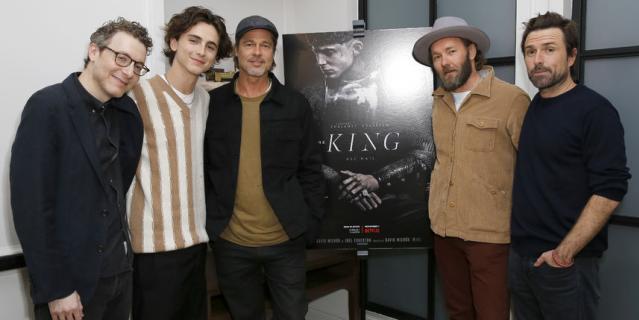 """На премьере фильма """"Король""""."""