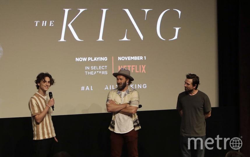 """На премьере фильма """"Король"""". Фото Getty"""