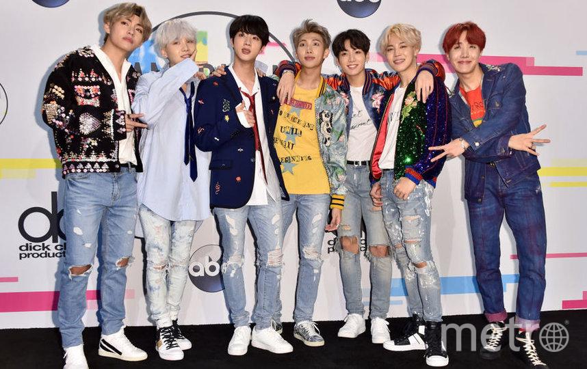 Южнокорейская группа BTS. Фото Getty