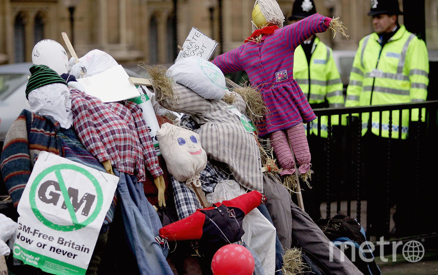 Митинг против ГМО в Европе. Фото Getty
