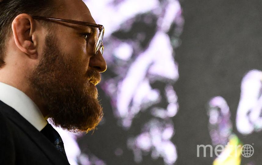 Конор Макгрегор в Москве. Фото AFP