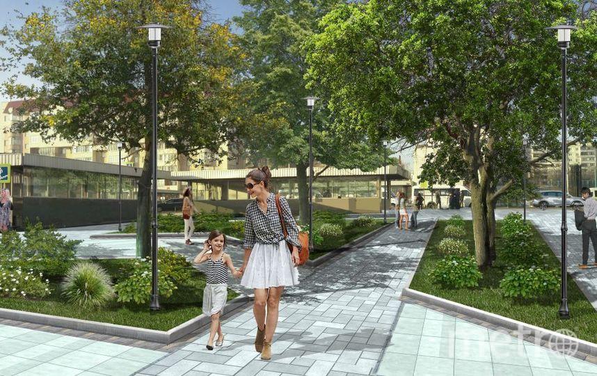 """Проект квартала в Люблино. Фото предоставлено пресс-службой Москомархитектуры, """"Metro"""""""