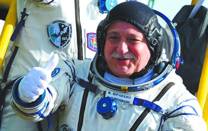 Фёдор Юрчихин. Фото  Алексей Филиппов, РИА Новости