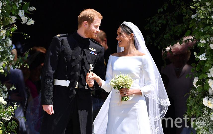 Свадьба Меган и Гарри. Фото Getty
