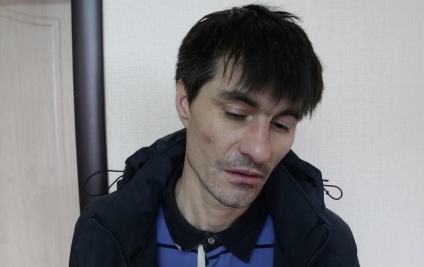 Подозреваемый. Фото скриншот видео МВД