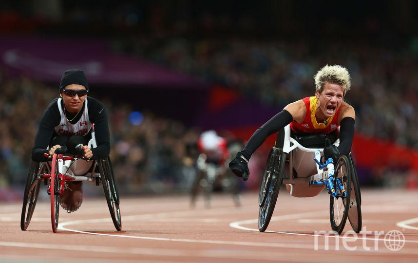 Марике ведёт борьбу за медаль. Фото Getty