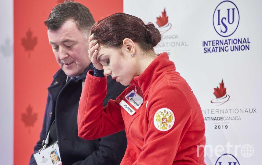 Евгения Медведева и Брайан Орсер. Фото AFP
