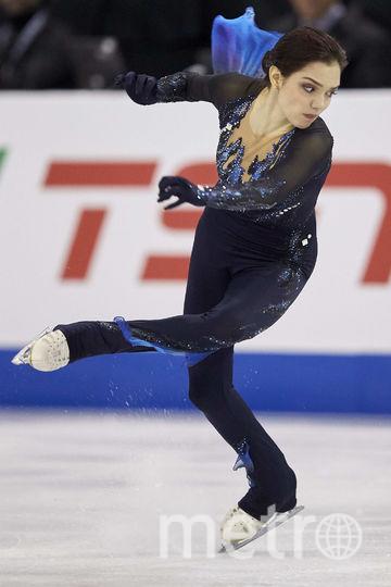 Евгения Медведева. Фото AFP