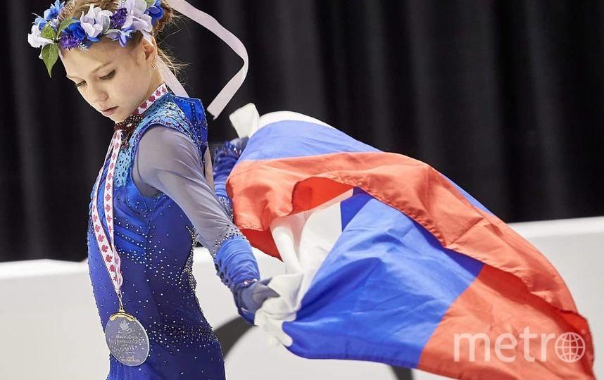 Александра Трусова выиграла Гран-при Канады и побила свой рекорд. Фото Скриншот @sport_express