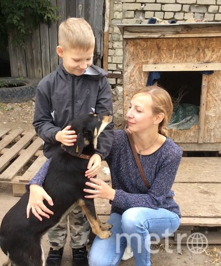 """Паша и его мама. Фото предоставила Екатерина Большакова, """"Metro"""""""