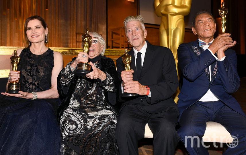 Джина Хершолта, Лина Вертмюллер, Дэвид Линч и Уэс Стьюди. Фото Getty