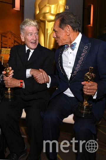 Дэвид Линч и Уэс Стьюди. Фото Getty
