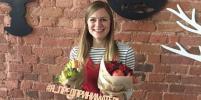 Пиарщица покорила Выборг своими букетами из фруктов