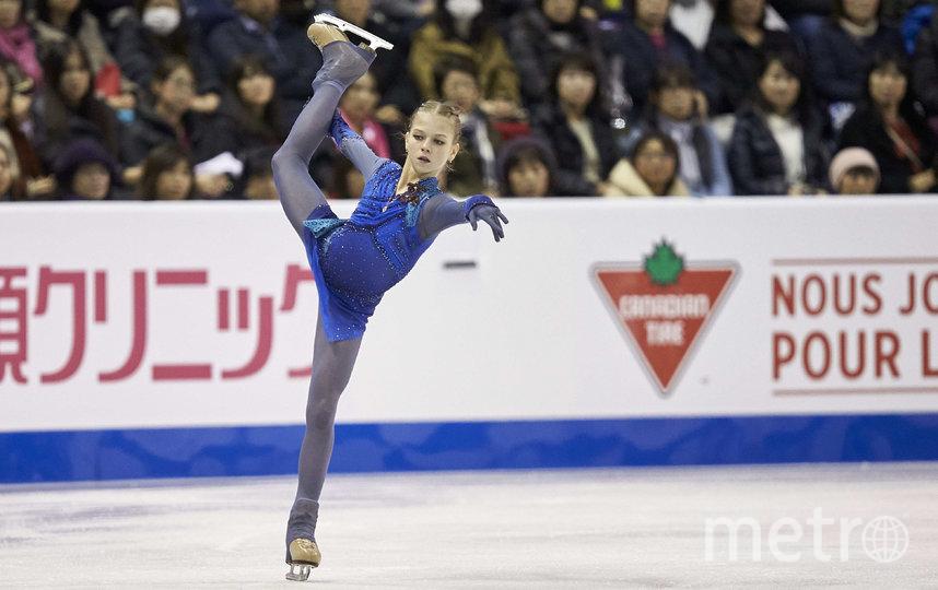 Александра Трусова. Фото AFP