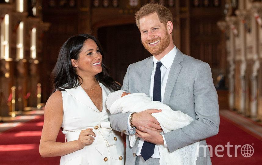 Меган Маркл с принцем Гарри и Арчи. Фото Getty